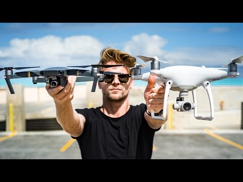DJI Mavic Pro VS Phantom 4 - Which one to buy