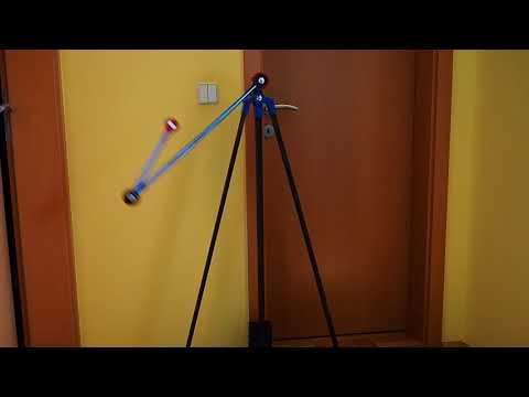 KLAATNO - double pendulum mechanical installation