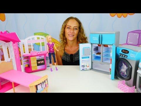 Barbie braucht Hilfe im Haushalt. Video für Kinder