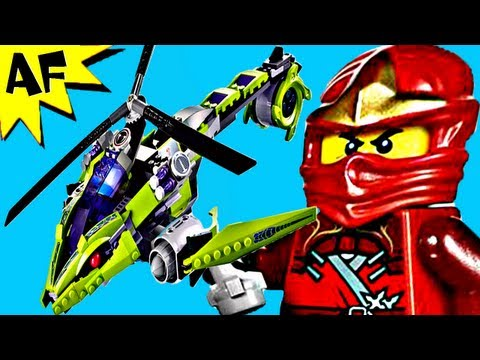 Vidéo LEGO Ninjago 9443 : Le Sercoptère