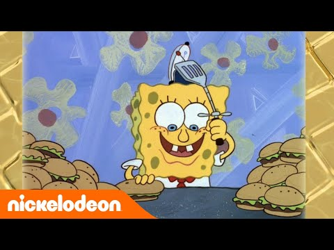 SpongeBob Schwammkopf | So wurde SpongeBob zum Burgerbrater | Nickelodeon Deutschland
