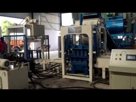 Fully Automatic Solid Block Making Machine
