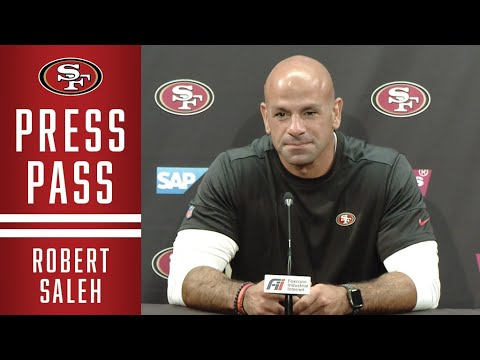 Robert Saleh Previews Matchup Against the Jets   49ers