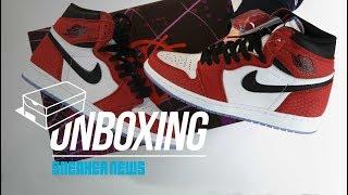 Spider Man Jordan 1 Unboxing + Review