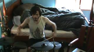 Trophy Widow - The Damned Things drum cover