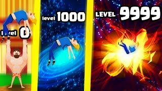 HOW HIGH IS THE STRONGEST HIGHEST TOSS THROW EVOLUTION? (9999+ MAX LEVEL BLACK HOLE ) l Buddy Toss