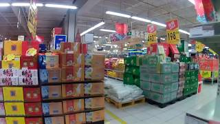 Supermarket Sweep in Hangzhou, China during the Wuhan Virus Crisis