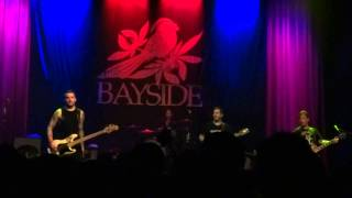 """Bayside - """"Duality,"""" """"Wrong Way,"""" """"Ghost of..."""" and """"Time Has Come"""" (Live in S.D. 3-20-14)"""