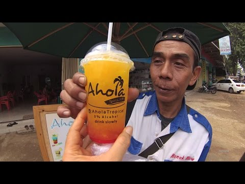 Video Jakarta Street Food 1177 Sragen Ahola Shirley Temple Ahola Tropical Non Alcohol Drink Slowly 5059