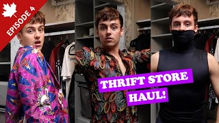 THRIFT STORE HAUL | Canada Chronicles Ep4 I Tom Daley