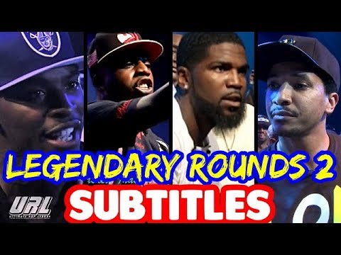 Legendary Rounds Vol 1 SUBTITLES - Charlie Clips, Tsu Surf