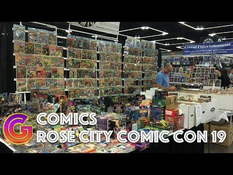 Le French Geek et la Rose City Comic Con 2019