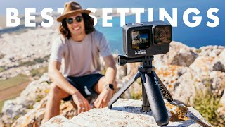 How to set up your GoPro HERO 9   BEST SETTINGS for beginners