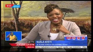 Jukwaa la KTN: Suala Nyeti - Uvimbe kwenye mfuko wa uzazi-fibroids - 29/3/2017 [Sehemu ya Pili]