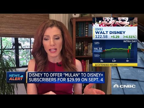 Mulan will be released to Disney+ subscribers on Sept. 4 for an additional $29.99