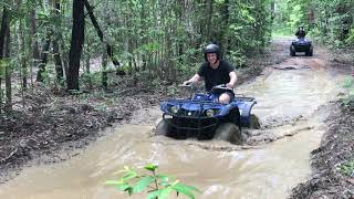 Cruising Through One of our Mud Pits