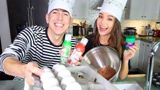 Baking with Bobby & Vanessa Merrell!! (Christmas Edition)