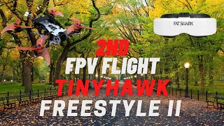 My 2nd fpv flight TinyHawk Freestyle 2 | Best first fpv drone for freestyle!