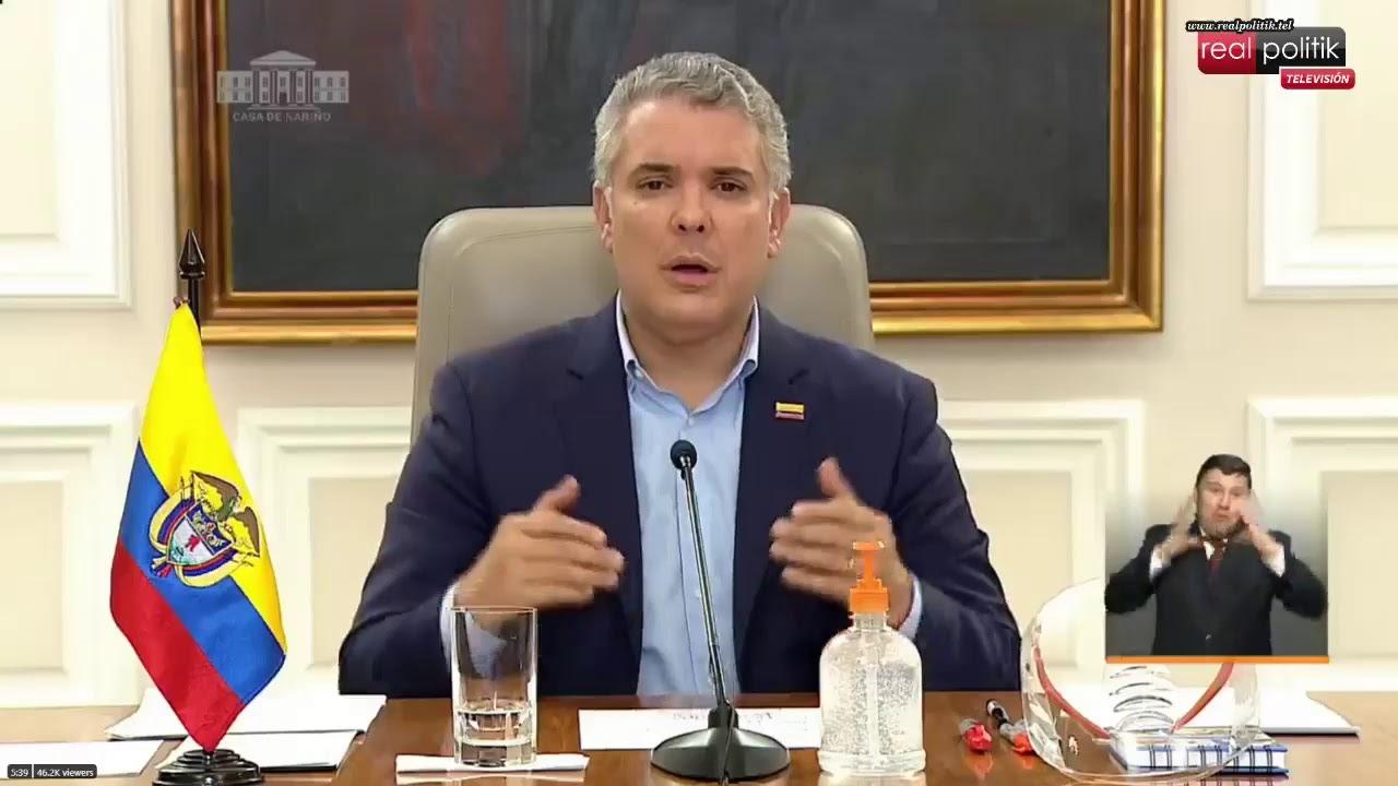 Colombia: Iván Duque anuncia protocolos de prevención y acción frente al COVID-19