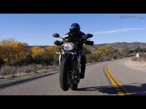 2013 MV Agusta Brutale 800 - Triple-Cylinder Shootout Part 1 - MotoUSA