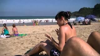 "Beautiful beach in Japan ""SHIRAHAMA BEACH in IZU peninsula"""