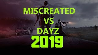 DAYZ VS MISCREATED Game Comparison (Part 2 2019) CURRENT VERSIONS - 12/28/18