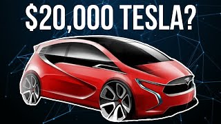 Tesla's Upcoming $20,000 Compact Vehicle - It's Coming Sooner Than You Think