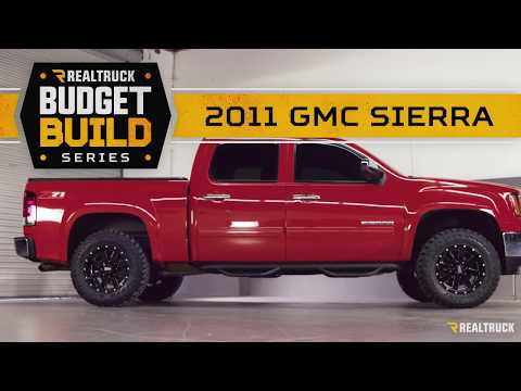 $3500 RealTruck Budget Build | Leveling Kit, Wheels, & Tires | 2011 GMC Sierra | Part 1