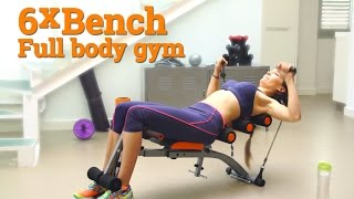 6xBench - Home gym exercise machine