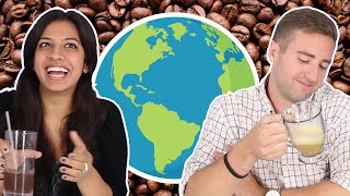 Americans Try Coffee From Around The World