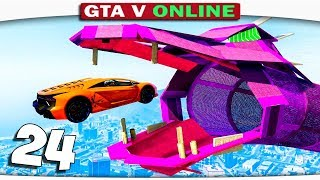 ч.24 Один день из жизни в GTA 5 Online - КАРТА С ДРАКОНОМ!!