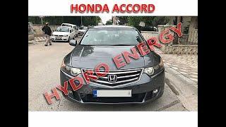 Honda accord hidrojen yakıt sistem montajı
