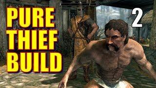 Skyrim Pure Thief Walkthrough 100% STOLEN LOOT Part 2 - Grand Theft Riverwood