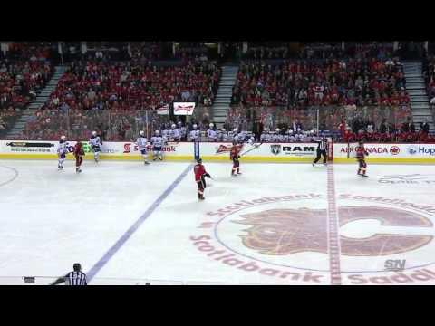 31.12.2014. Edmonton Oilers vs. Calgary Flames Full Game HD