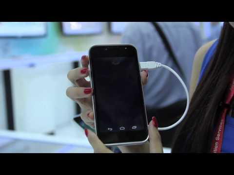 ZTE Grand X LTE (T82) Android Smartphone at CommunicAsia 2012
