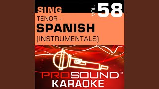 Tuyo (Karaoke With Background Vocals) (In the Style of John Secada)