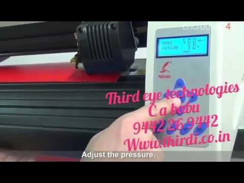 T-Shirt Sticker Cutting Machine