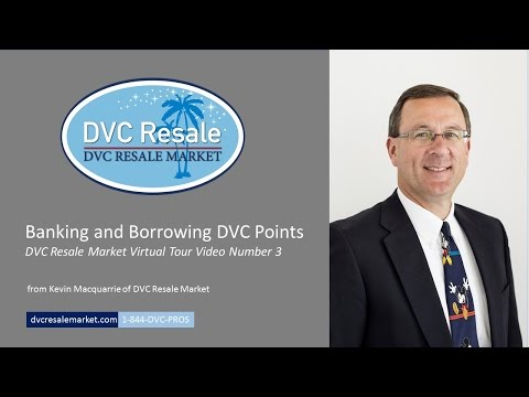 Banking and Borrowing DVC Points - Virtual Tour Video 3
