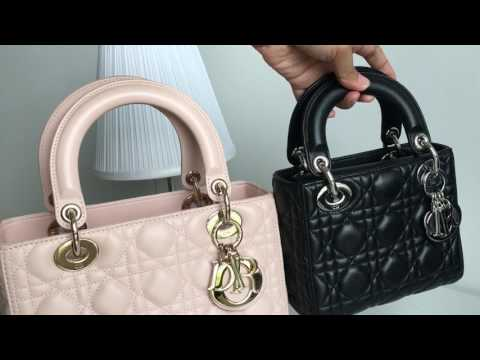 Lady Dior Medium VS Lady Dior Mini