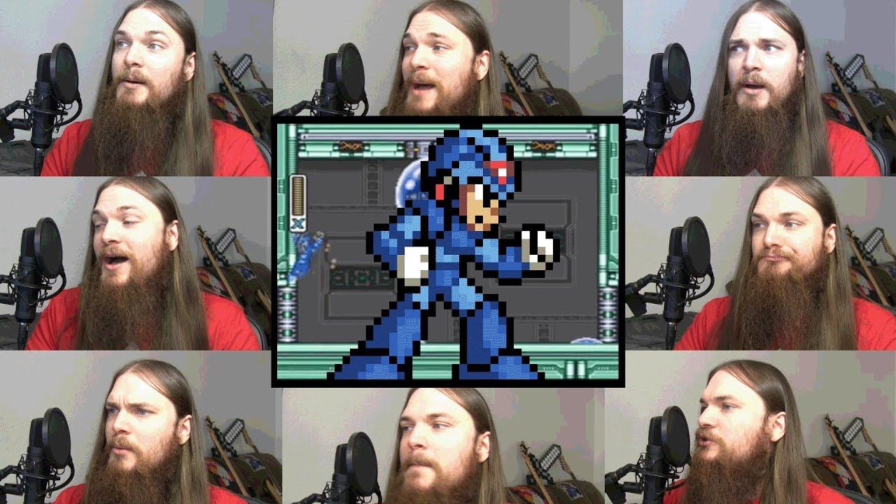 Mega Man X's Spark Mandrill Theme In An Amazing A Capella
