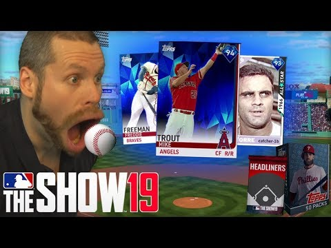 I ate baseballs for MLB the Show 19