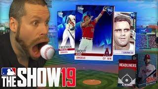 I ate baseballs for MLB the Show 19