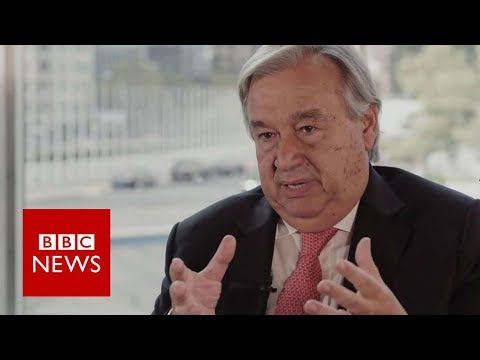 Guterres: 'Suu Kyi can reverse Myanmar situation' – BBC News