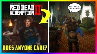 What Happens If You Kidnap The Annoying Lady Inside The Saint Denis Saloon In Red Dead Redemption 2?