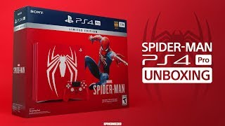 Spider-Man PS4 Pro Bundle — Unboxing and Thoughts On The Game [4K]
