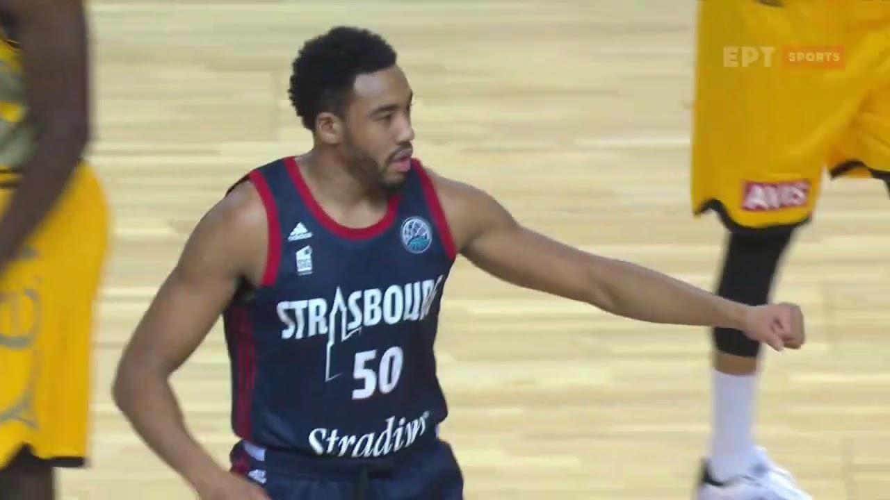 Basket Champions League: ΣΤΡΑΣΜΠΟΥΡ – ΑΕΚ | 23/03/2021 | ΕΡΤ
