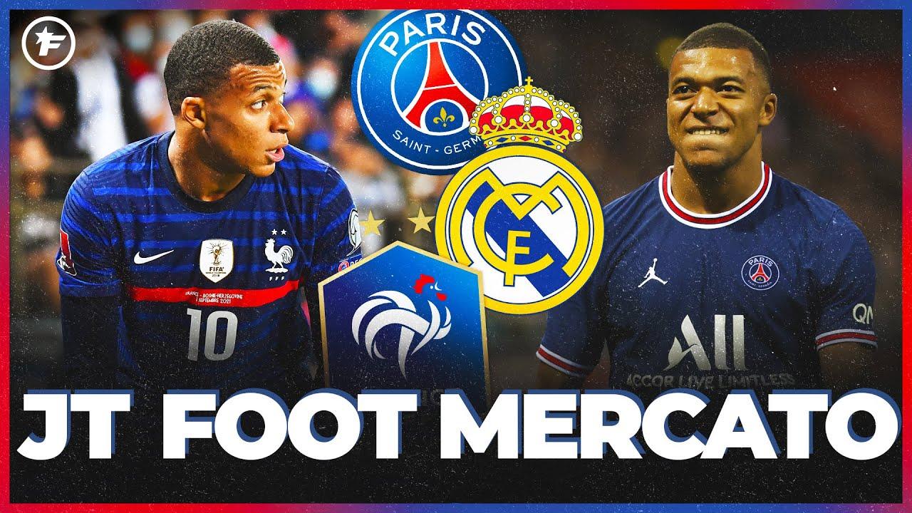 JT Foot Mercato : le cas Kylian Mbappé fait chavirer la planète foot