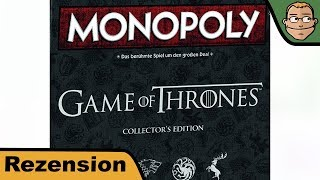 Monopoly: Game of Thrones Collector's Edition - Review