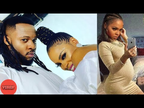 Chidinma Is Finally Pregnant For Flavour As She Exposes Baby Bump