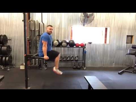 How To Do Leg Raises on a Dip Bar To Really Target Your Abs| Rowlett Transformation Center |